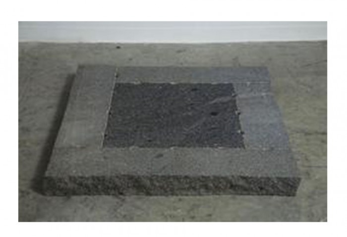 <i>Untitled</i>, 1988<br>Granite, 4 x 39 1/2 x 39 1/2 inches (10.16 x 100.33 x 100.33 cm)<br>Gift of Joan and Roger Sonnabend