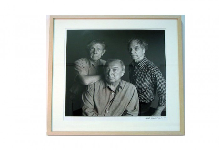 Timothy Greenfield-Sanders,	The New Irascibles (Artists 1)	1985	portfolio of six b&w photographs	17 in. x 17 in. (43.18 cm x 43.18 cm)	Gift of Ruth and Richard Shack