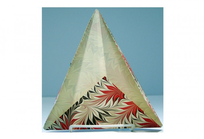 <br>The Marble Arrow</i>, 1984<br>Card (folded, unconventionally shaped), 8 5/16 x 6 3/4 inches (21.1 x 17.1 cm)<br>Gift of Marvin and Ruth Sackner