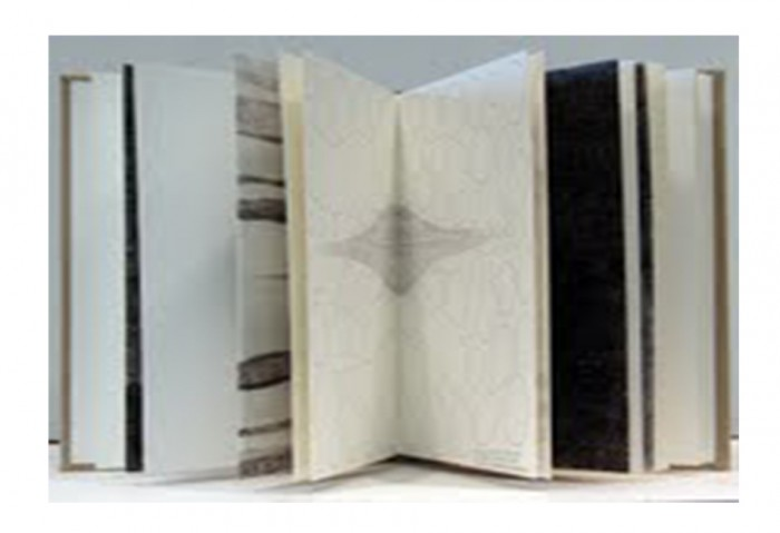 <i>Small Atlas of Selected Celestial Drawings</i>, 1998<br>Ink on paper (bound book), 9 1/2 x 14 x 1 inches (24.13 x 35.56 x 2.54 cm)<br>Gift of Gail and Gean Gitin