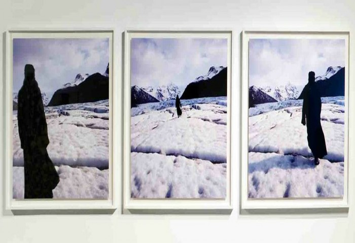 <i>True North</i>, 2004<br>Digital photography on Epson Premium Glossy, 44 1/2 x 139 inches (113.03 x 353.06 cm)<br>Purchased with funds provided by MOCA Pop Love