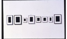 Surrogate Paintings, 1994Eight small paintings of plaster, dimensions variableGift of Robert and Nancy Magoon