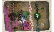Tres Enamorados, 1995Mixed media on paper, 31 1/2 x 47 inches (80.01 x 119.38 cm)Gift of Dr. Arturo and Liza Mosquera
