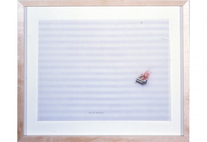 <i>Music for the Morning After</i>, 2002<br>Graphite and watercolor on vellum,	 8 x 11 1/8 inches (20.32 x 28.26 cm)<br>Gift of Irma Braman