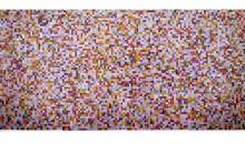 View (metallic), 1999 Metallic Pantone chips with acid-free adhesive, 54 x 104 inches (137.16 cm x 264.16 cm)Gift of Rosa and Carlos de la Cruz in honor of Marc Antonio Vilaca