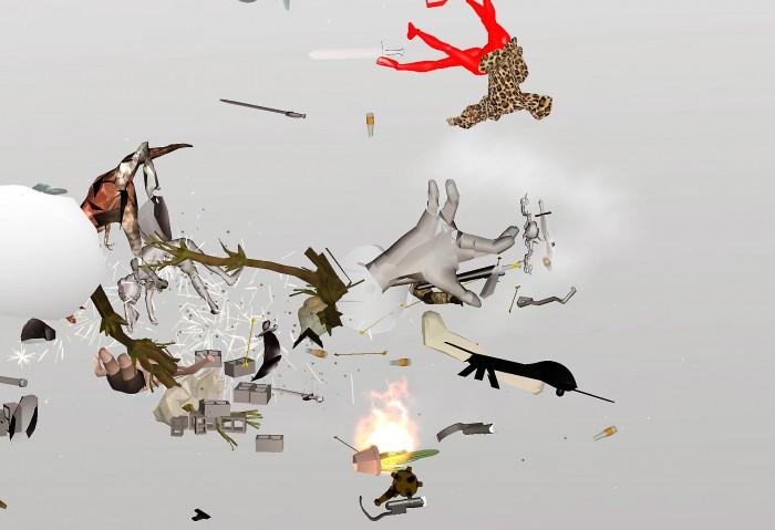 Ian Cheng, Entropy Wrangler (still), 2013, Live Simulation, Infinite Duration, Courtesy of the Artist