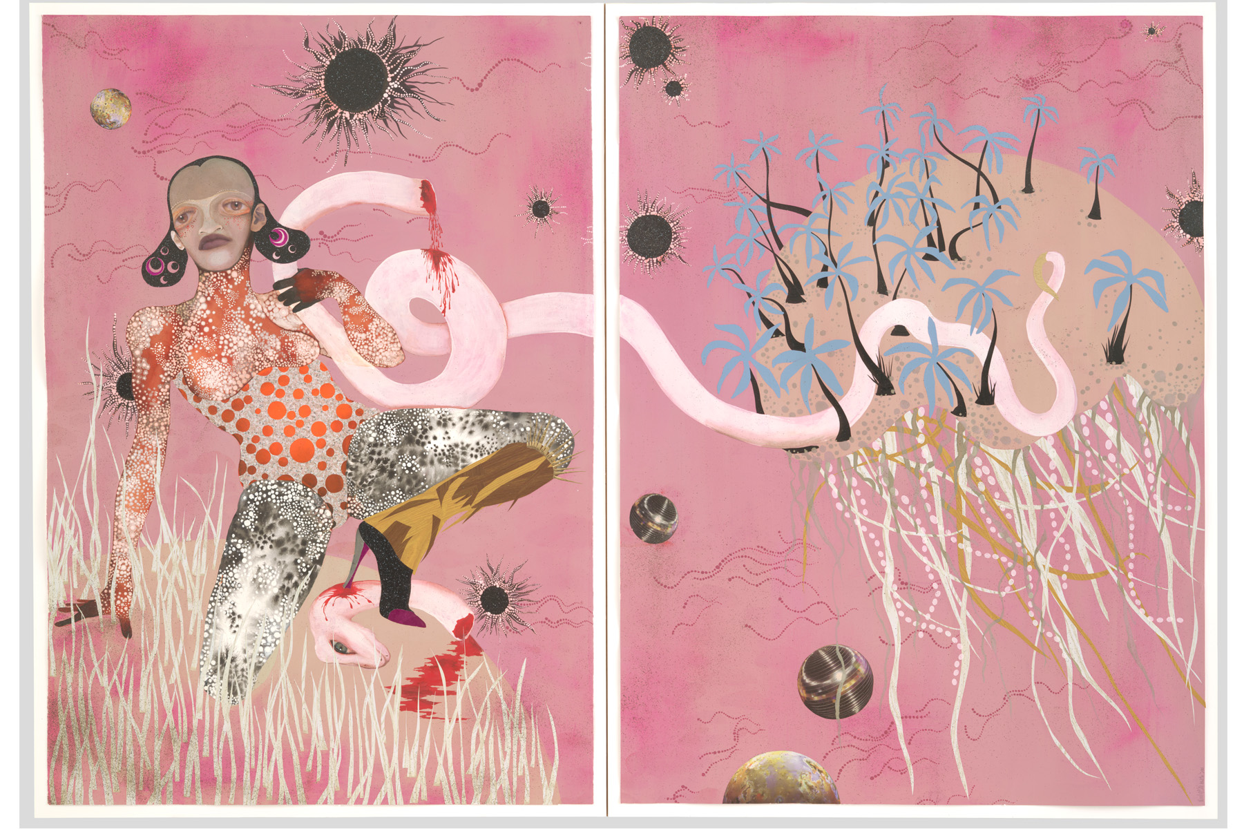 Creative arts for kids: WANGECHI MUTU