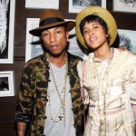 Pharell Williams and Helen Lasichanh