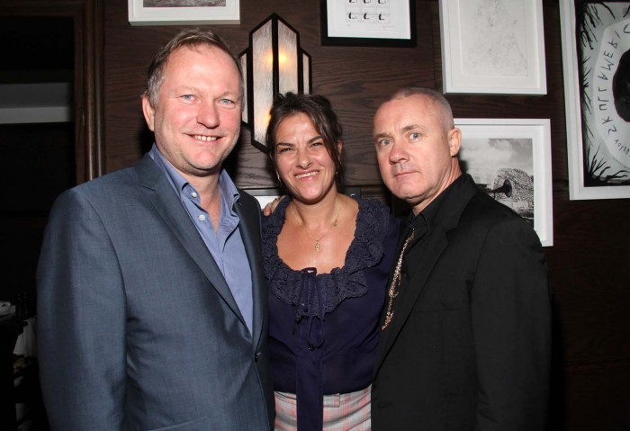 Nick Jones, Tracey Emin, Damien Hirst
