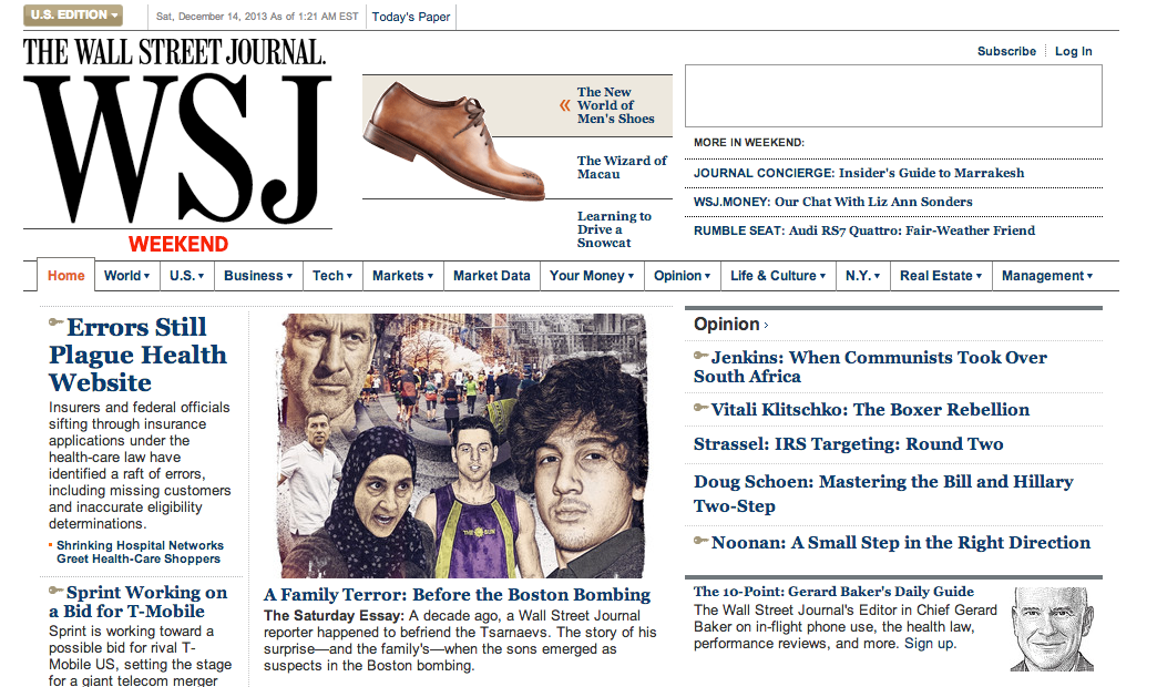 Selected Press Wall Street Journal