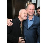 Damien Hirst and Nick Jones