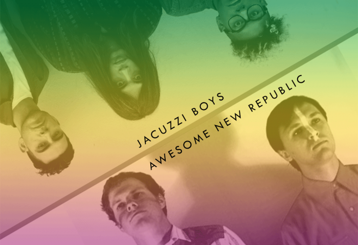 Jacuzzi Boys + Awesome New Republic cover their favorite British music!