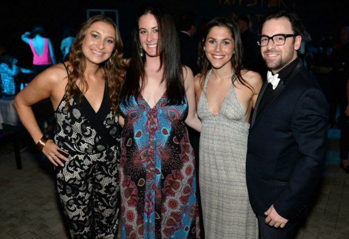 Jessica Katz, Lauren Miller, Katy Zinn, Brandon Perlman Photo by: Manny Hernandez