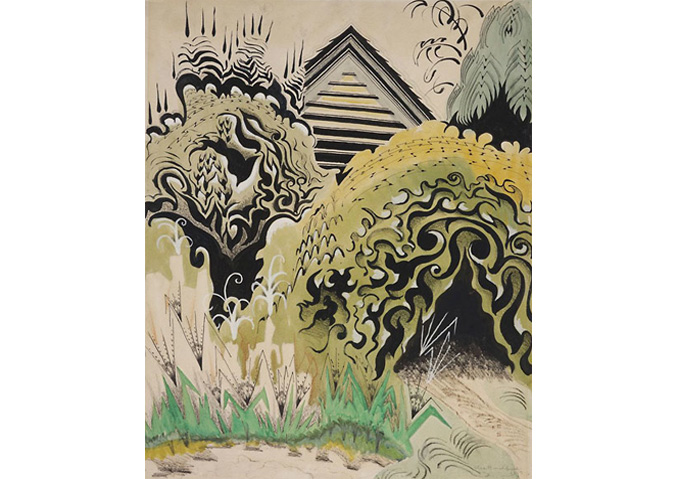 Charles Burchfield, The Insect Chorus, 1917