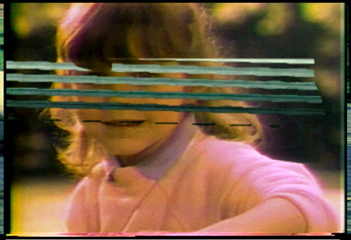 "Seth Price, Film still from Digital Video Effect: ""Editions"", 2006"