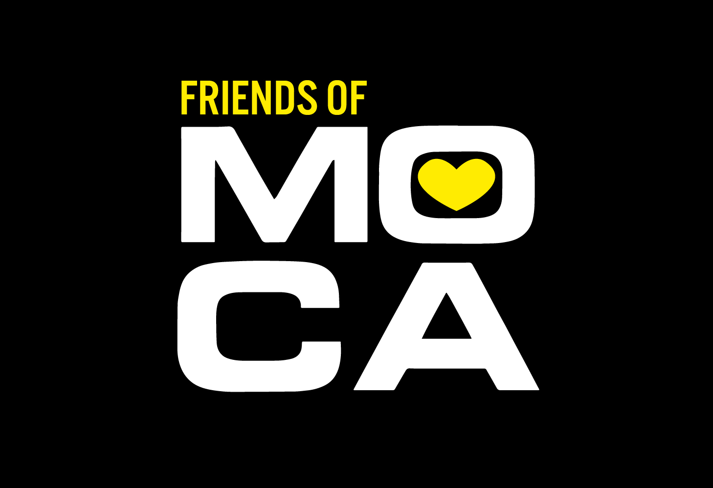 Friends at MOCA