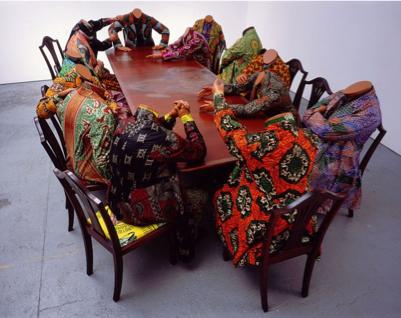 Yinka Shonibare, Scramble for Africa, 2000.