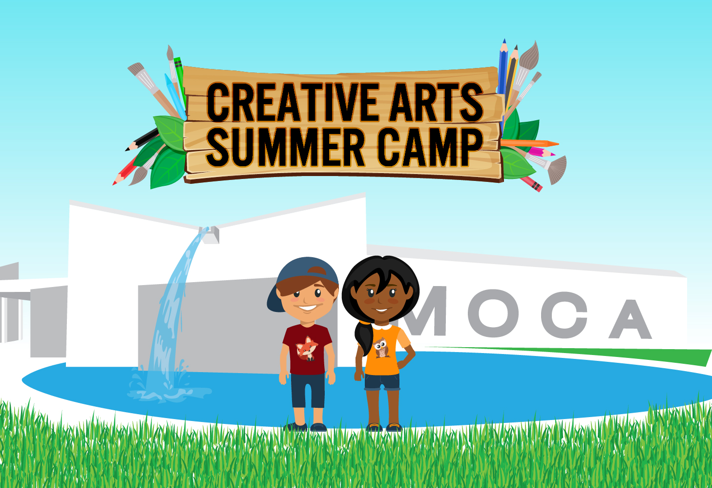MOCA SUMMER ART CAMP 2016