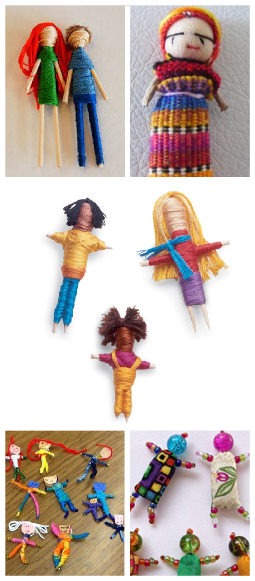 Worry Dolls grid