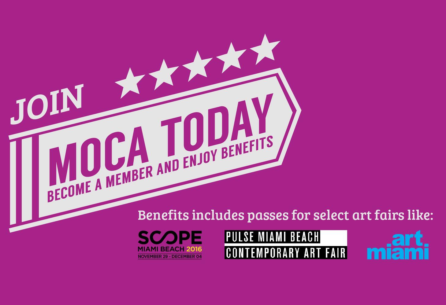 Become a MOCA member