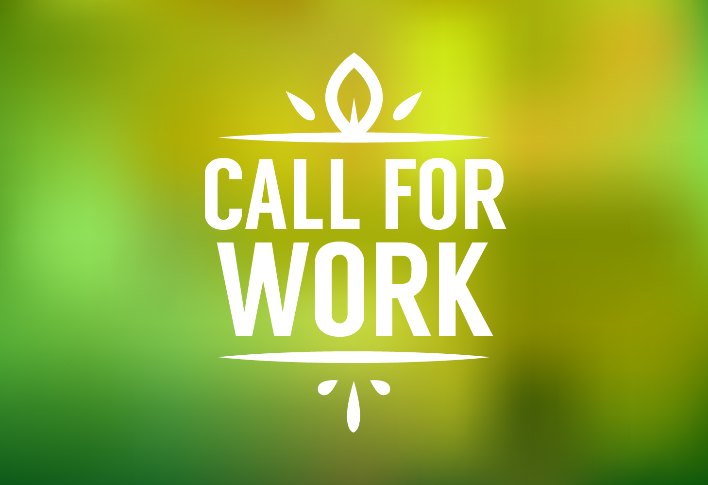 Call for work