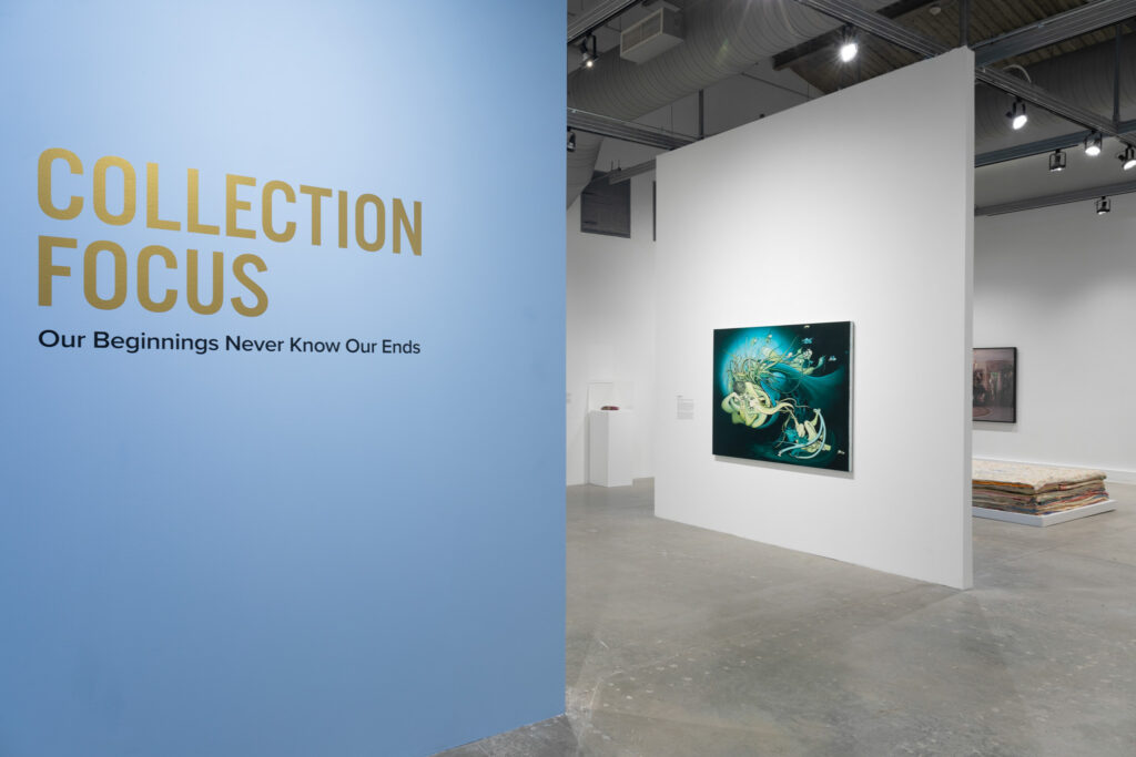 Collection Focus Our Beginnings Never Know Our Ends Installation Photography