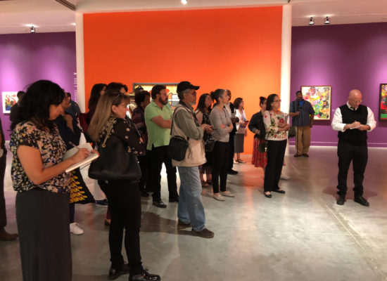 AFRICOBRA guided tour