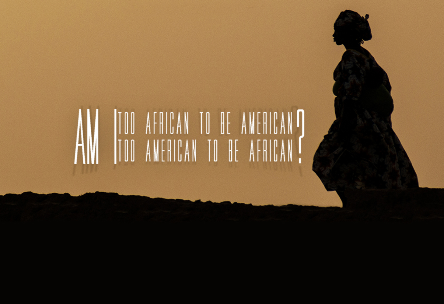Moca moving images: am i too african to be american? too american to be african?