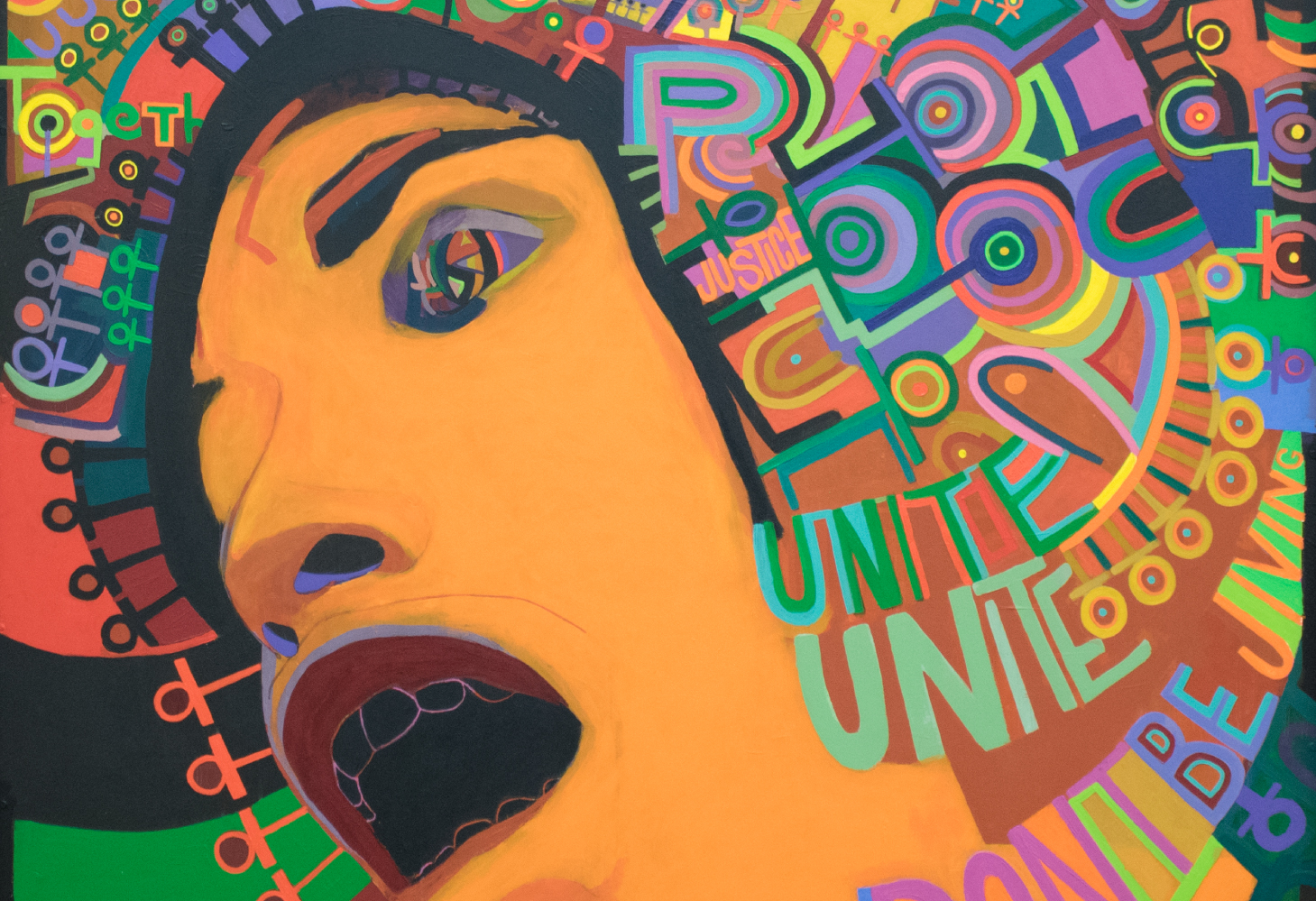 Art from the black power movement to #blacklivesmatter
