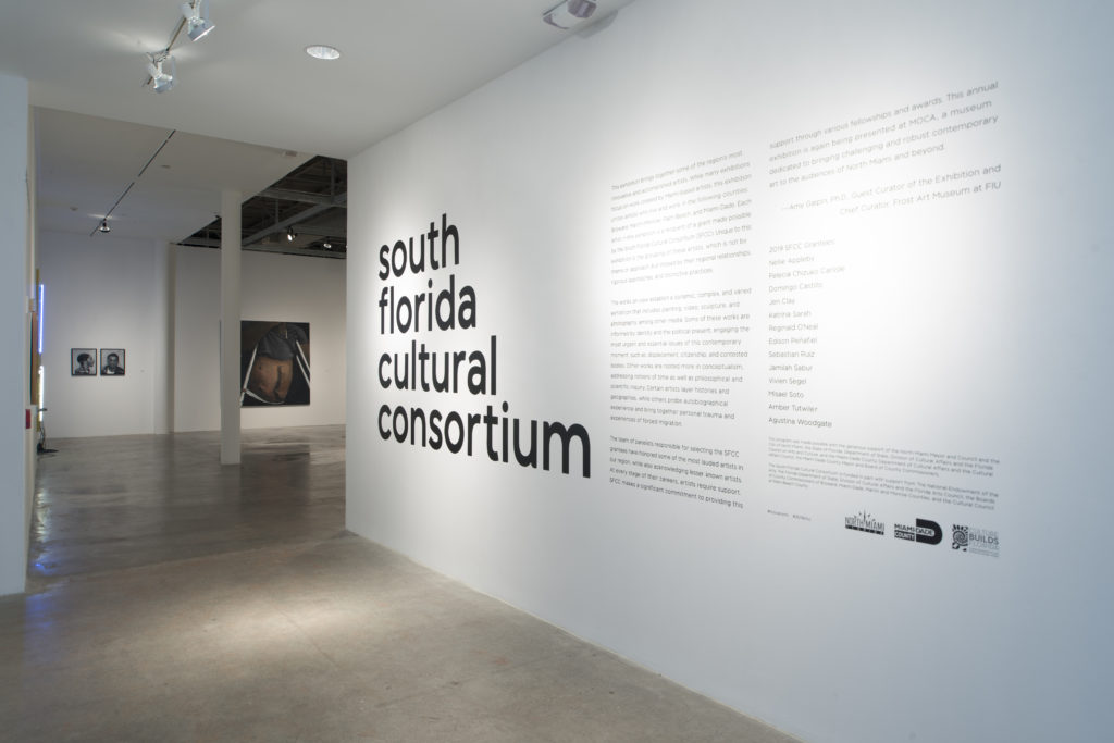 Installation view of South Florida Cultural Consortium (sfcc) 2019