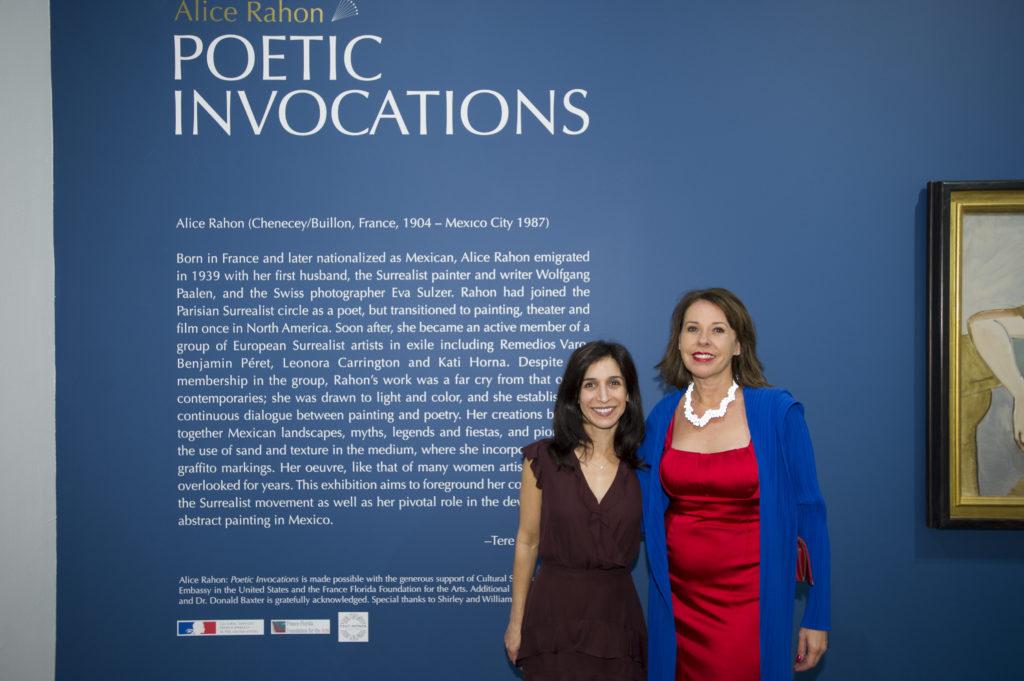 Alice rahon: poetic invocations reception