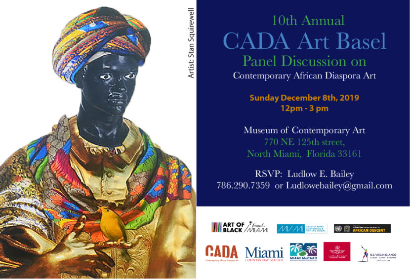 Cada art basel panel  discussion