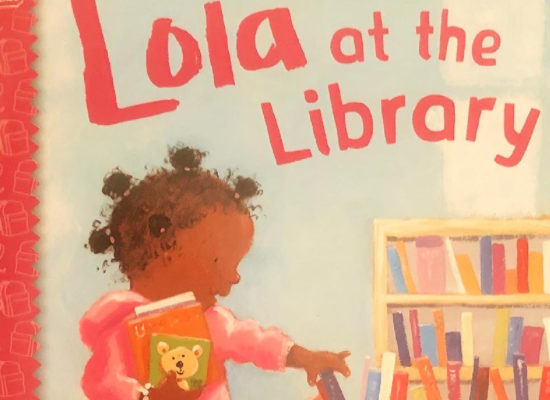 Sunday stories: Lola at the library book cover