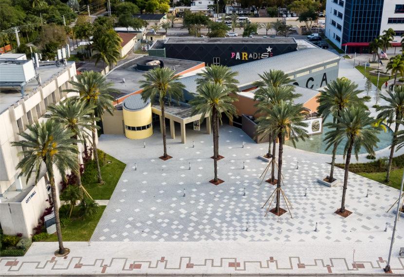 Aerial Shot of MOCA