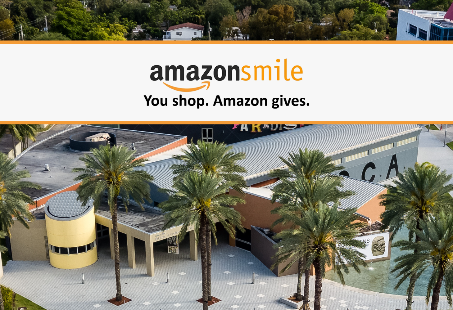 Support moca with amazonsmile