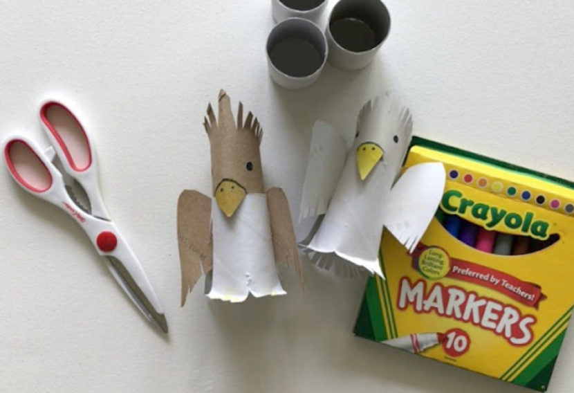 Art project | cardboard cockatoo