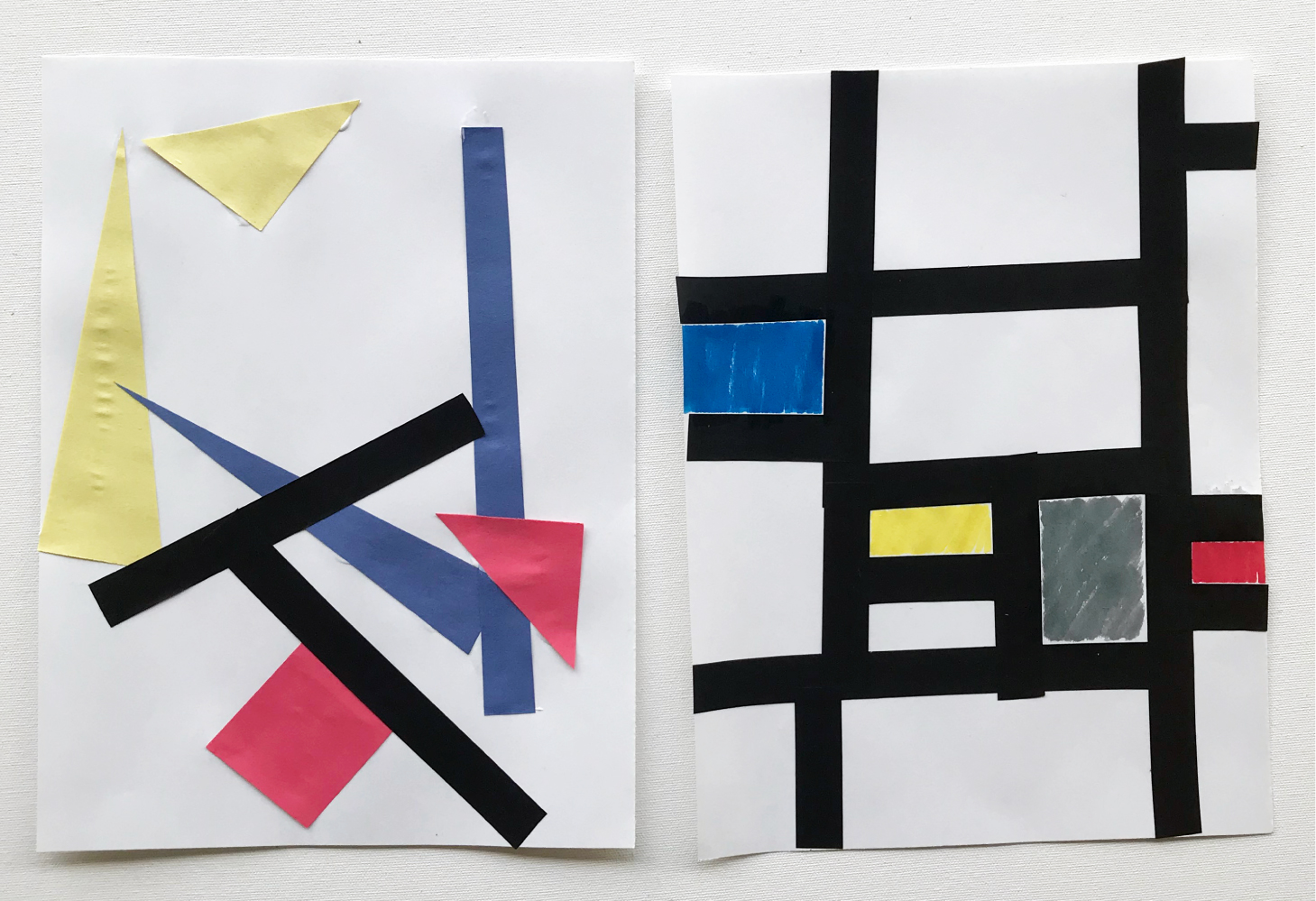 Art project | de-construct destijl