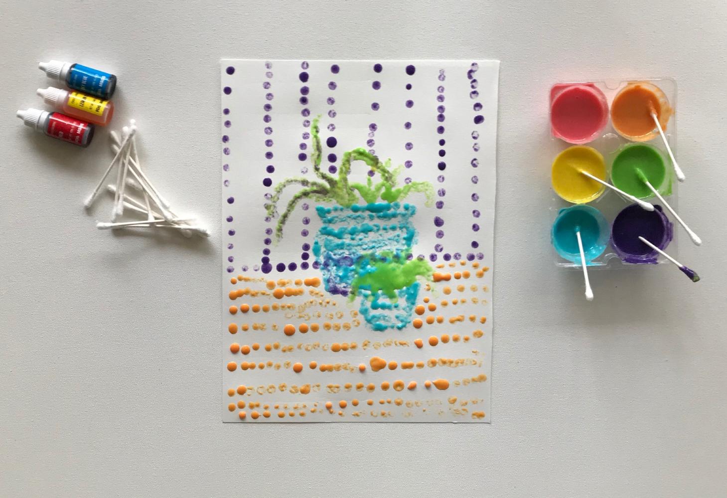 Art project | diy dots