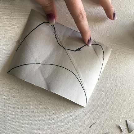 Art project | cardboard cockatoo