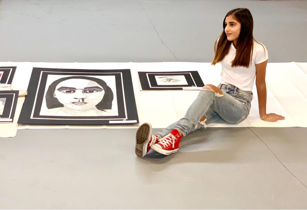 Virtual teen art force: drawing & portfolio class