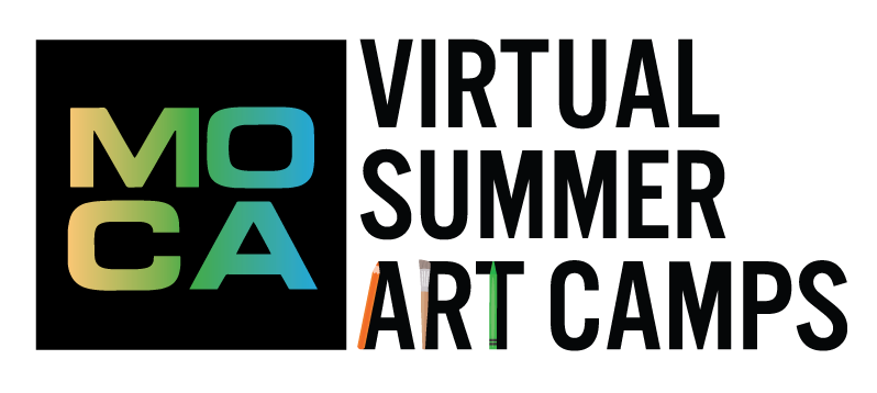 MOCA Virtual Summer Art Camps logo