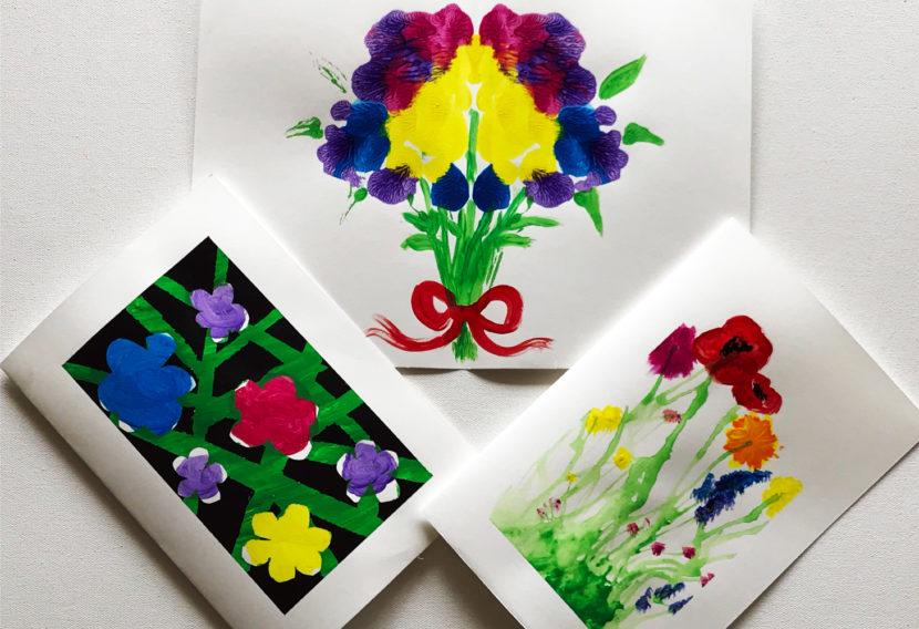 Art project | field of flowers