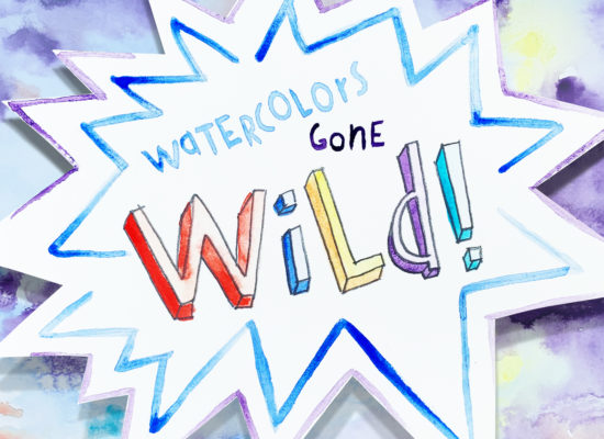 Watercolors gone wild