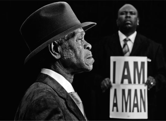 Art on the plaza:Carl Juste I Am A Man Memphis Tennessee, 2008  digital photograph courtesy of Carl Juste / Miami Herald Staff
