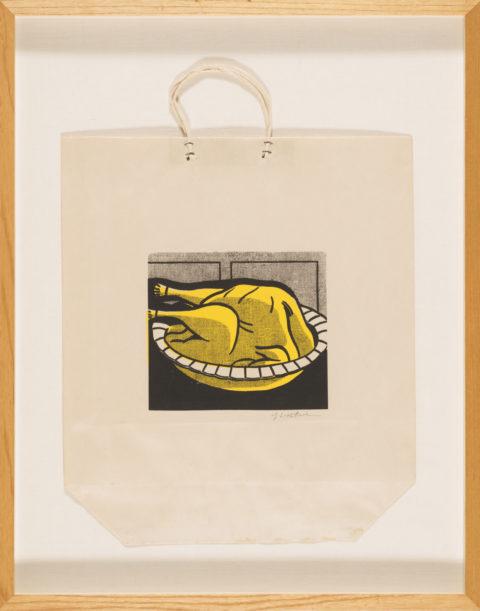 Roy lichtenstein / turkey shopping bag