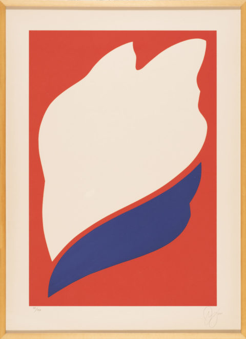 Untitled, 1973, silkscreen on Arches paper, 39 3/4 in. x 28 3/4 in. (100.97 cm x 73.03 cm). Gift of Ruth and Richard Shack