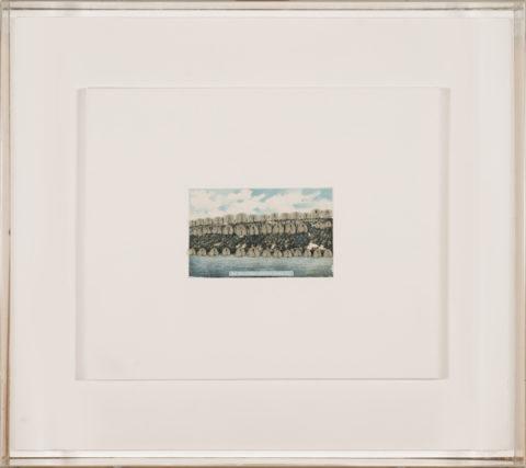 Hannah wilke / the palisades, hudson river, ny