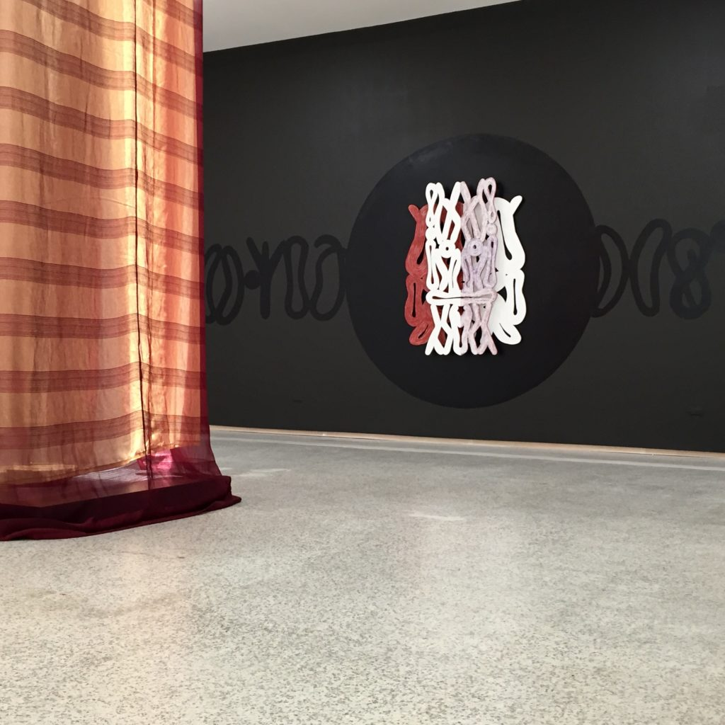 "Moca check in: onajide shabaka ""Alosugbe,"" exhibition at Emerson Dorsch Gallery, 2019."