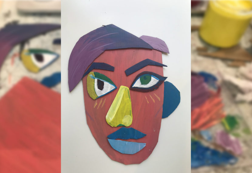 Art project | cubist faces