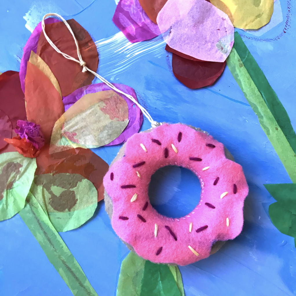 Art at home | donut diy